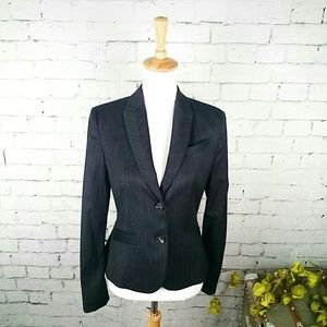 GUC Esprit collection blazer striated pattern
